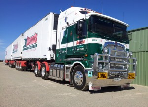 About Dennis Transport trucking company