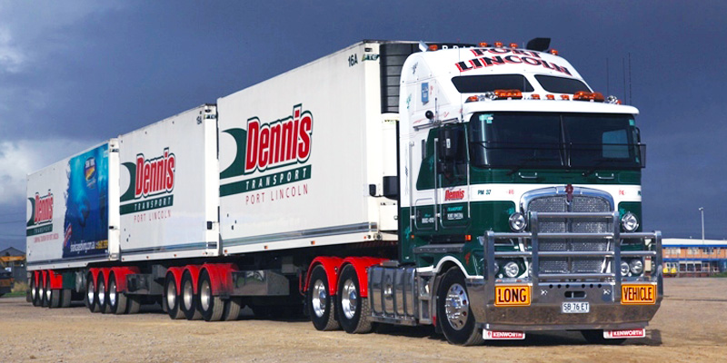 Dennis Transport Providing Freight Solutions For Eyre